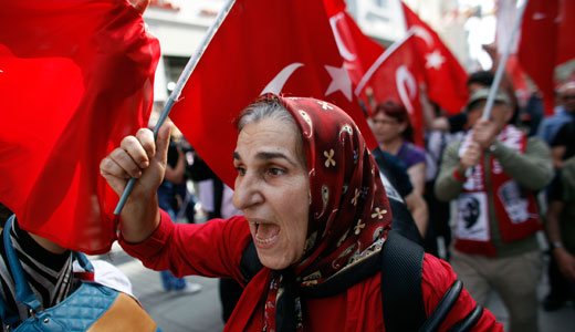 Trade unions join Turkey protests