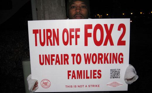 Detroit's Fox 2, unfair to working families