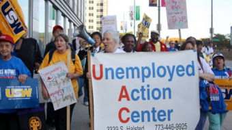 Chicago fight back week for jobs (with video)