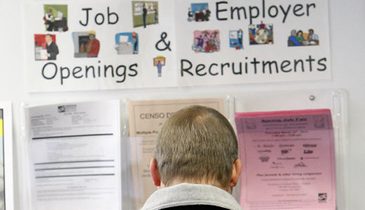 March jobs not enough to reduce unemployment rate