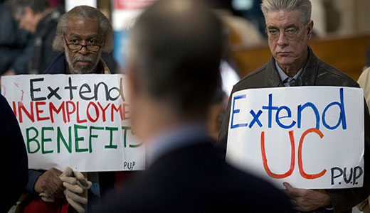 Tell Congress to extend unemployment benefits now!