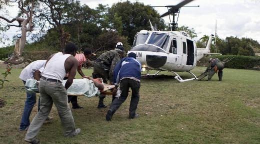 Haiti cholera may have originated with UN peacekeepers