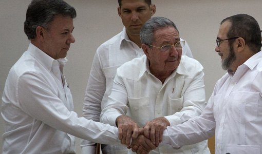 Cuba, the unifier, promotes peace in Colombia