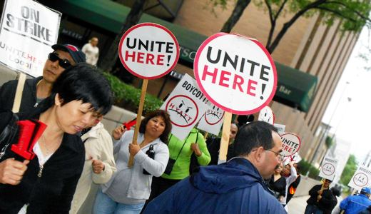 Hyatt workers strike in four cities after two years without contract