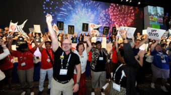 At AFT meet, energized resistance to attacks on education