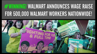 """Walmart's raise for workers """"proof collective action works"""""""