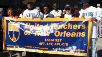 New Orleans union teachers to take case to U.S. Supreme Court