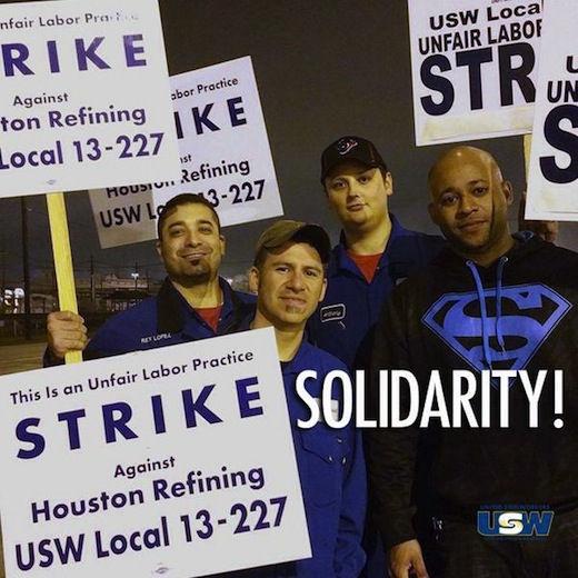 Oil workers begin largest strike since 1980
