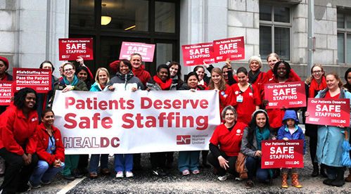 Drawing on California model, nurse staffing and advocacy bill introduced