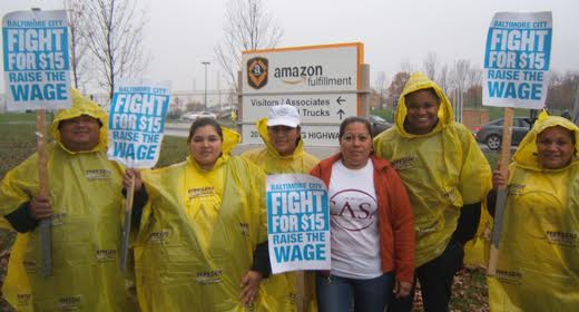 """Thousands across the nation march in """"Fight For 15 NOW!"""" picketlines"""