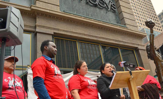 Store cleaners file class action suit for back pay, set strike date