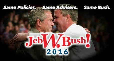 New website spotlights Jeb Bush policies identical to W's