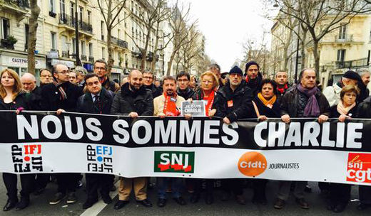 """Je suis Charlie"" – but I have other names as well!"