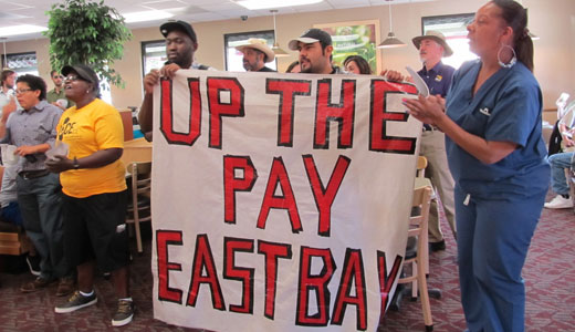 Fast food workers rally vs. poverty wages