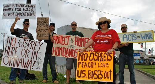 The Pentagon and Hawaii, militarized state of armed occupation