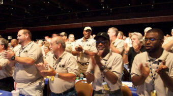 Steelworkers honor Danny Glover and Ed Schultz (with video)