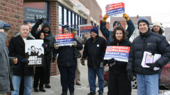 """Rite Aid Valentine protest: """"Show love for worker's rights"""""""