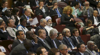 The Pope huddles with mayors to tackle climate change