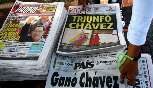 Left makes big advances in Venezuela regional elections