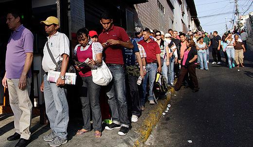 Right-wing push to destabilize Venezuela after close election