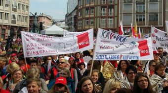 Germany: many strikes and a big scandal