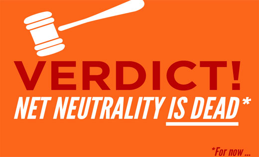 "Court strikes down FCC rules, threatening ""net neutrality"""