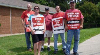 Verizon threatens strikers with health care cutoff