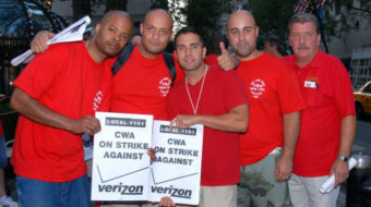 """Verizon strike: It's """"high noon"""" for all workers"""