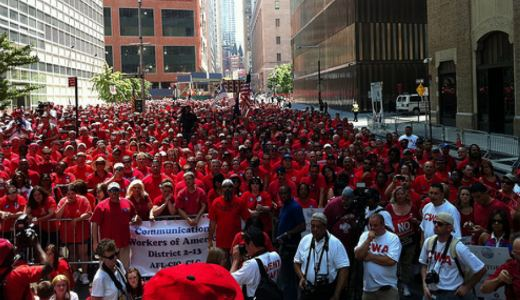 """We'll stand with Verizon workers, their fight is ours"""