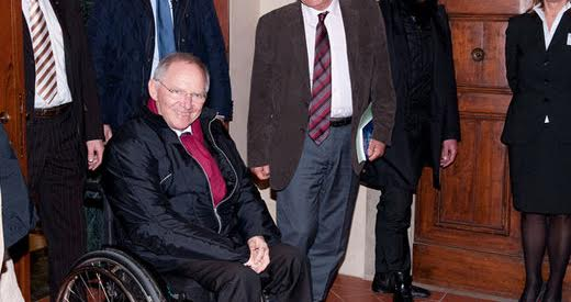 Schäuble prescribes medicine for Greece he first tested on East Germany