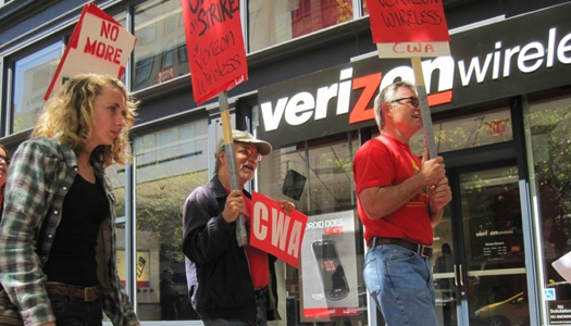 Unions: New Verizon pact gives raises, halts outsourcing, adds jobs