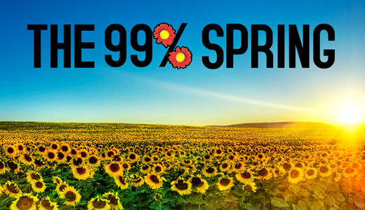 99% Spring blooming nationwide