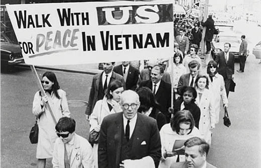 Today in history: 50th anniversary of first national march against Vietnam War