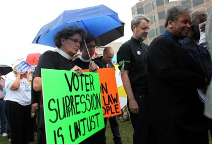 Fight to stop vote suppression back in North Carolina courts