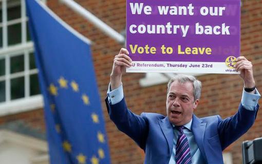 British far right celebrates Brexit vote, Trump offers congratulations