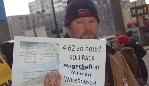 Fired warehouse workers hold Walmart accountable