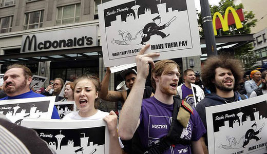 Fast food and retail workers to walk out nationwide Aug. 29