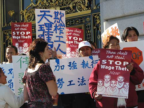 Workers fight back vs. wage theft