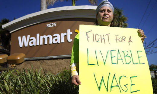 Walmart seeks food donations for its workers
