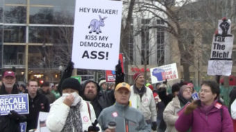 Scott Walker's got to go! (with video)