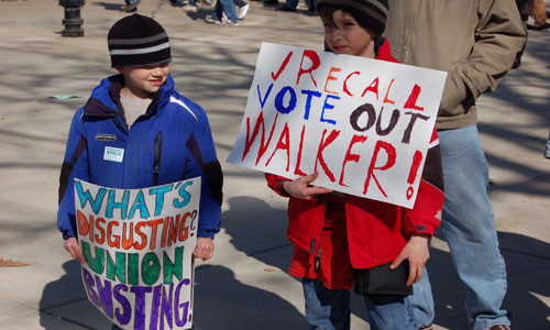 Court ditches parts of Wisconsin's anti-worker law