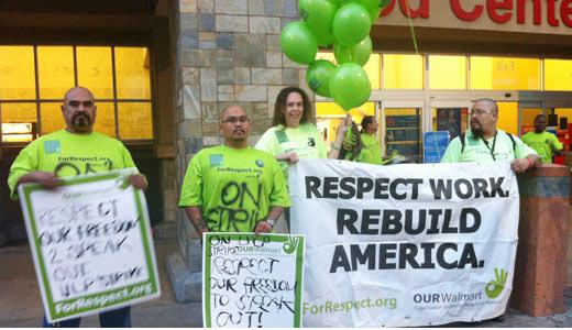 Walmart associates launch first ever strike