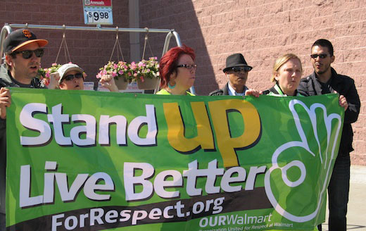 California labor moves to halt Walmart abuse