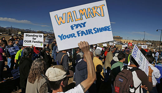 Walmart's treatment of workers hurting its bottom line