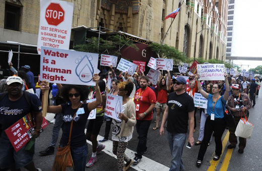 Detroit water crisis shows the reality of our current social system
