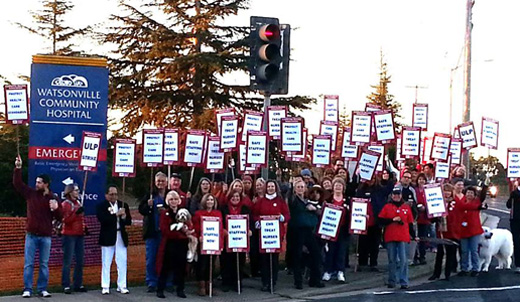 NNU: Big hospital chain retaliates vs. nurses who led patient safety campaign