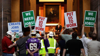 Minnesota unions urge action on jobs as legislature convenes