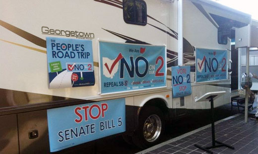 Youngstown says vote no on anti-union legislation