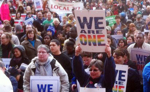AFL-CIO, Change to Win, go to bat for gay marriage