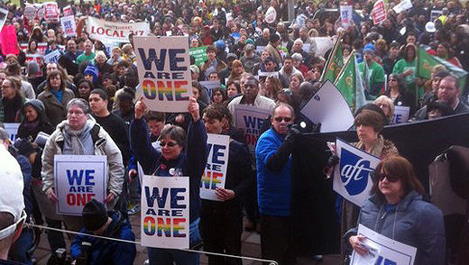 SEIU, AFT join coalition to stop job discrimination vs. gays